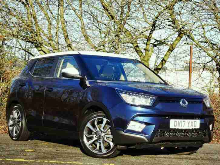 Ssangyong Tivoli. Ssangyong car from United Kingdom