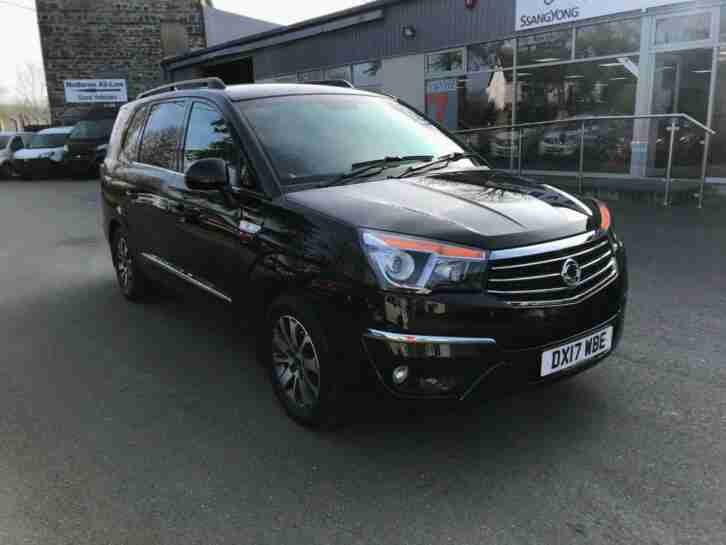 2017 Ssangyong Turismo 2.2TD ( 178ps ) 4X4 ELX Auto. Four wheel drive. 7 Seats