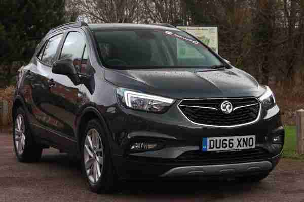 2017 Vauxhall Mokka X 1.4T Active 5dr Hatchback Petrol grey Manual