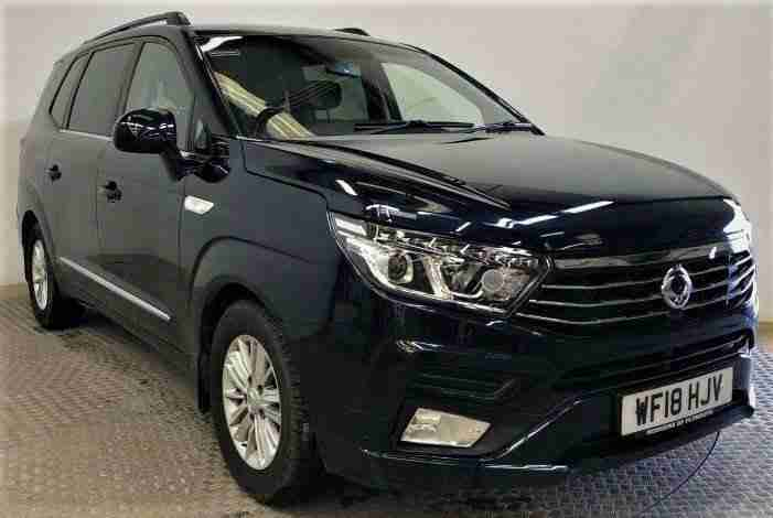 2018 18 SSANGYONG RODIUS TURISMO 2.2 EX 5D 176 BHP. AUTO LEATHER SSANGYONG HISTO