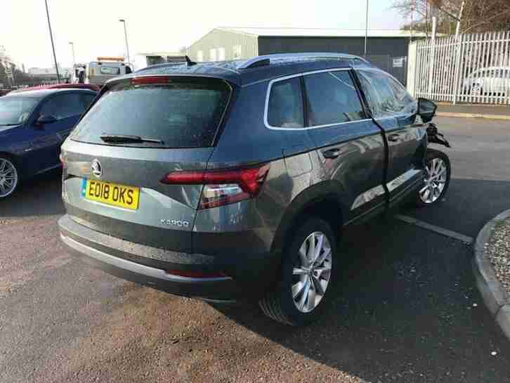 2018 (18) Skoda Karoq Se L Tsi Estate 1.5 Manual Petrol - SALVAGE
