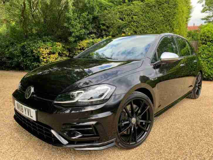 2018 18 VOLKSWAGEN GOLF 2.0 R TSI DSG 5D AUTO 306 BHP LEATHER + SAT NAV
