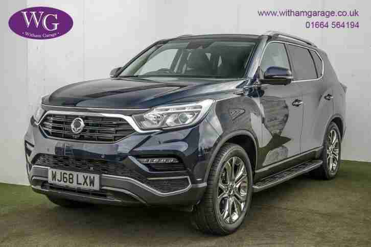 2018 68 SSANGYONG REXTON 2.2 ULTIMATE 5D AUTO 179 BHP DIESEL