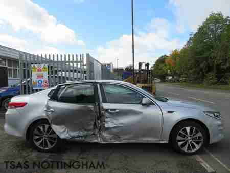 2018 Kia Optima 3 ISG DCT Auto1.7 CRDi 139 Bhp Silver Damaged Salvage