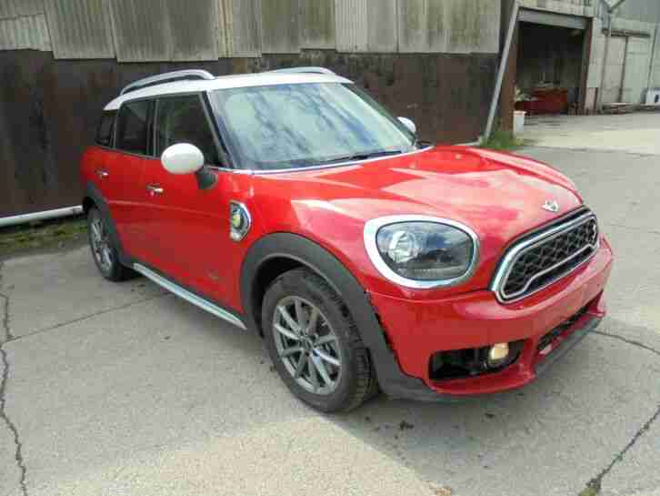 2018 MINI COUNTRYMAN HATCHBACK 1.5 COOPER S E ALL4 PHEV LIGHT DAMAGED SALVAGE