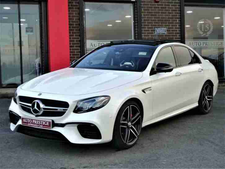 2018 Mercedes Benz E63 AMG S 4.0 ( 611ps ) ( Premium ) ( s s ) 4MATIC+ 9G