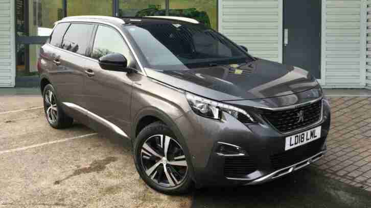 Peugeot 5008. Peugeot car from United Kingdom