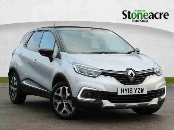 2018 Renault Captur 0.9 TCE 90 Signature X Nav 5dr Hatchback Petrol Manual