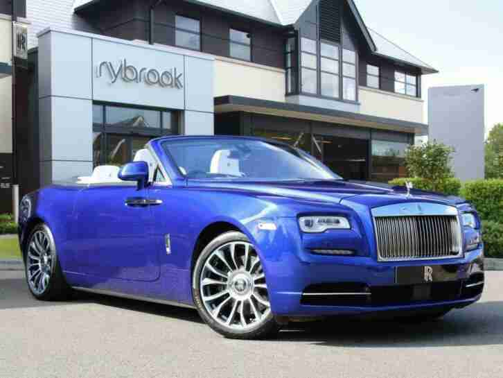 2018 Rolls Royce DAWN 6.6 V12 Auto 2dr (4 seat) Convertible Petrol Automatic