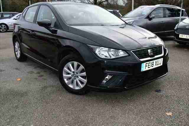 2018 SEAT Ibiza 1.0 MPI SE Technology (s s) 5dr Hatchback Petrol Manual
