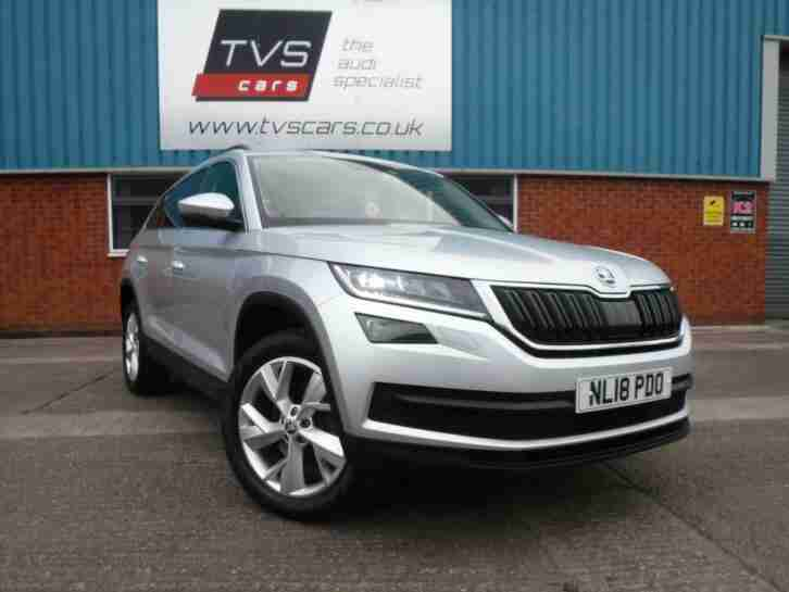 Skoda Kodiaq. Skoda car from United Kingdom