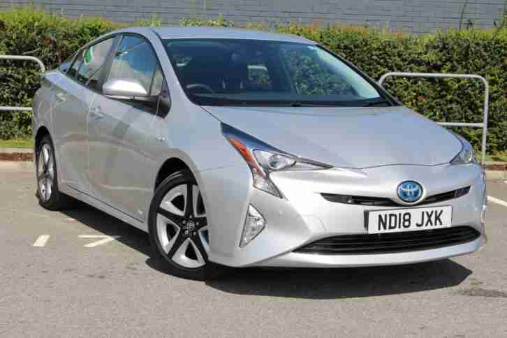 Toyota Prius. Toyota car from United Kingdom