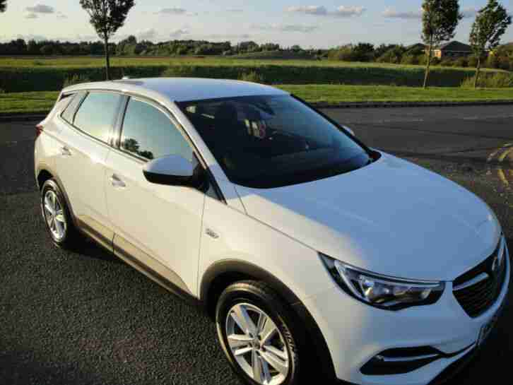 2018, Grandland X, SE, Turbo, White,