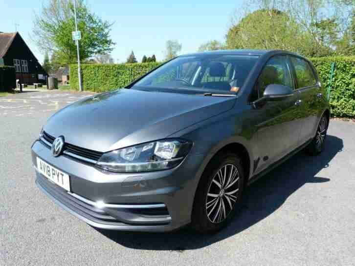Volkswagen Golf. Other car from United Kingdom
