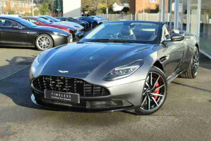 2019 Aston Martin DB11 V8 Volante 2dr Touchtronic Automatic Petrol Convertible