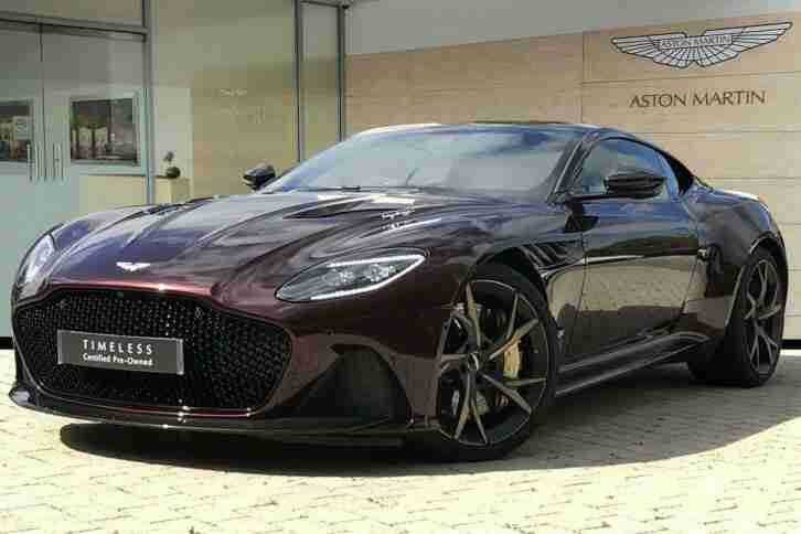 2019 DBS V12 Superleggera 2dr