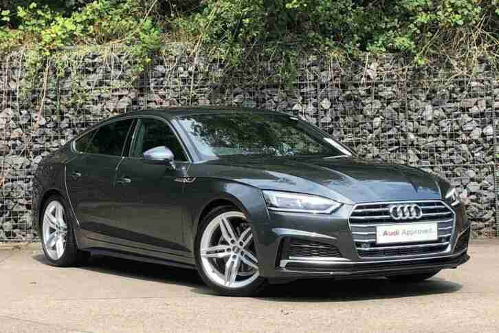 Audi A5. Audi car from United Kingdom