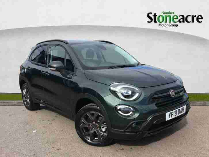2019 Fiat 500X 1.3 FireFly Turbo S Design SUV 5dr Petrol DCT (s s) (150 ps)