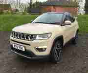 2019 Jeep Compass 2.0 MultiJetII Limited Auto 4WD (s s) 5dr Diesel beige Automat