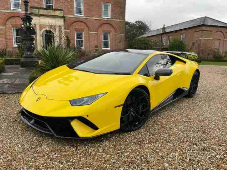 2019 Lamborghini HURACAN 5.2 V10 LP 640 4 Performante Coupe LDF 4WD (s s) 2dr Co