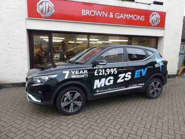 2019 MG ZS 44.5kWh Excite EV Auto 5dr