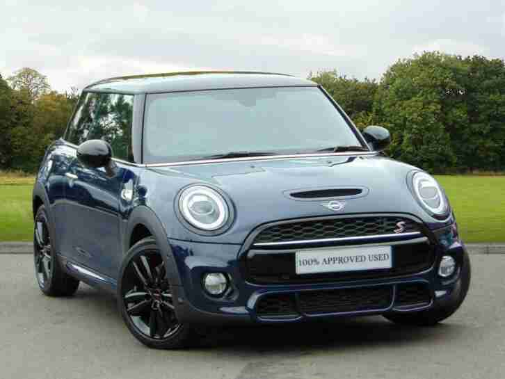 2019 MINI HATCHBACK 3 Door Hatch Cooper S Sport Petrol blue Automatic