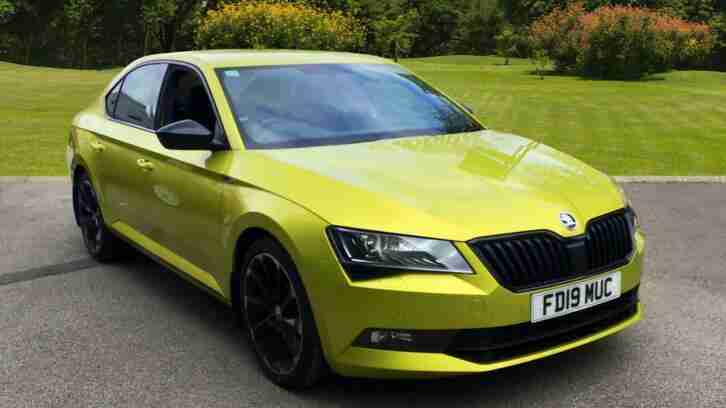 2019 Skoda Superb 2.0 TDI CR 190 Sport Line Plus 4X4 5dr DSG 7 Speed Diesel Hatc