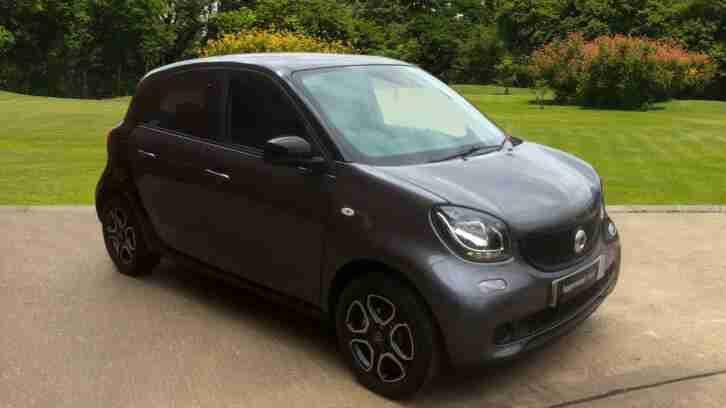 Smart Forfour. Smart car from United Kingdom