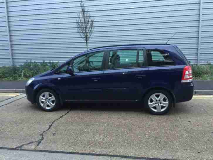 *£2690* 2013 Vauxhall Zafira Exclusiv 1.6 Petrol - Blue Full History - 7 Seater