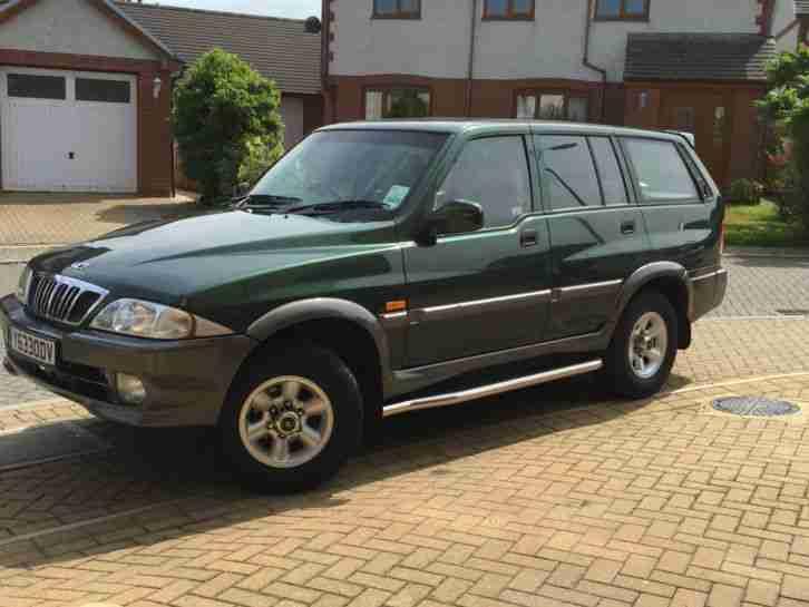 Daewoo 4x4 2.9TDI Musso. car for sale