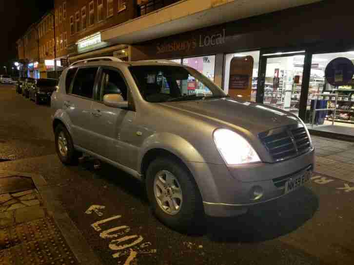 Ssangyong 4x4 rexton. Ssangyong car from United Kingdom