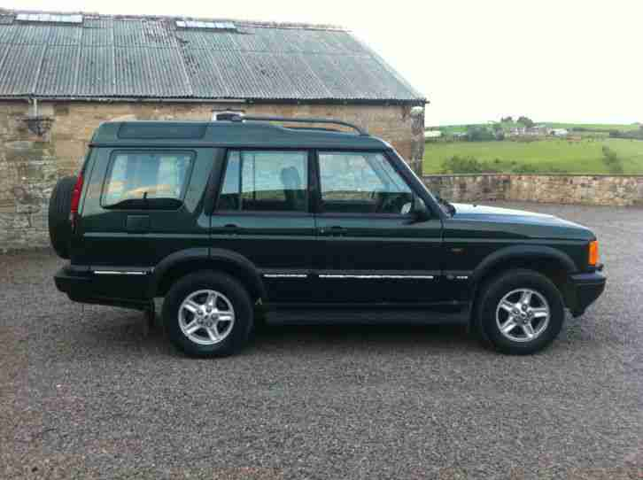 51 REG LAND ROVER DISCOVERY TD5 GS GREEN