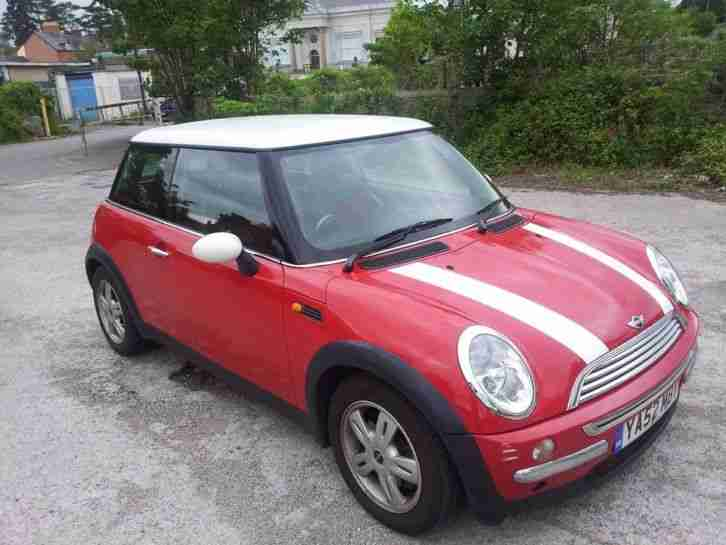 52 REG MINI MINI COOPER 1.6 - MOT DECEMBER 2015 - LOW MILEAGE - 3 DAY AUCTION