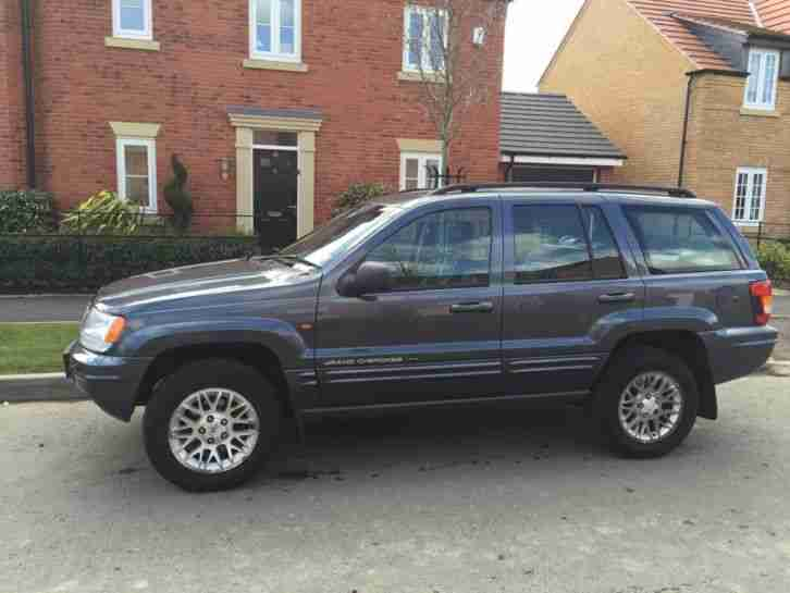 jeep 52 reg grand cherokee 2 7 crd auto limited car for sale. Black Bedroom Furniture Sets. Home Design Ideas