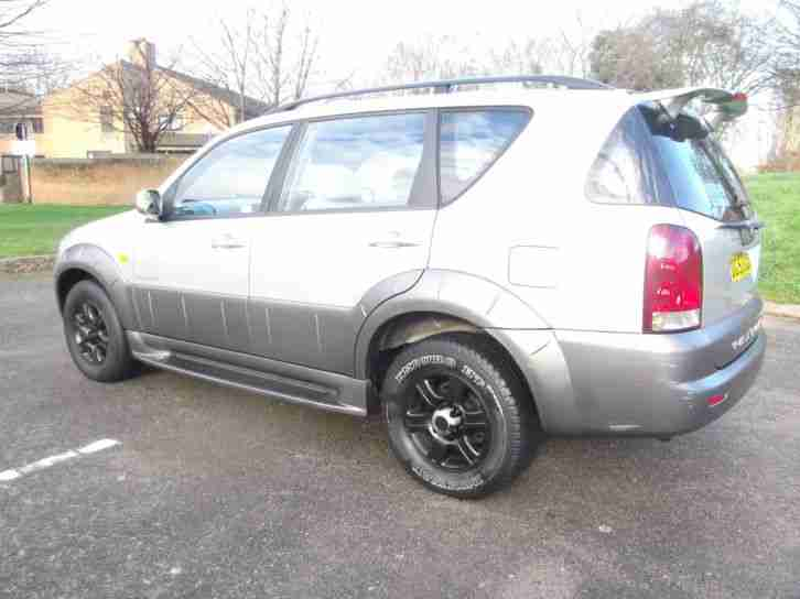 53 2003 SSANGYONG REXTON 2.9TD RX 290 S MANUAL 4X4 GOOD EXAMPLE PX SWAPS WELCOME