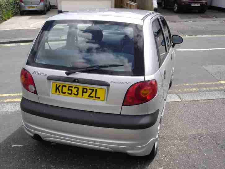 53 Daewoo Matiz 0.8 SE 5-Door FSH Low Miles PAS ABS CD