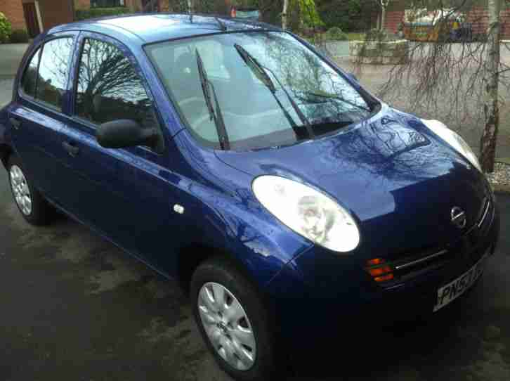 nissan 53 reg 2003 micra s blue car for sale. Black Bedroom Furniture Sets. Home Design Ideas