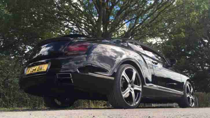 54 BENTLEY CONTINENTAL GT AUTO BLACK MANSORY EDITION SHOW CAR 100K BUILD
