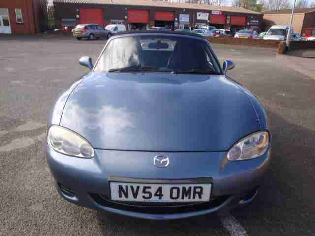 54 MAZDA MX5 EUPHONIC LEATHER HEATED SEATS SOFT TOP ***NO RESERVE***