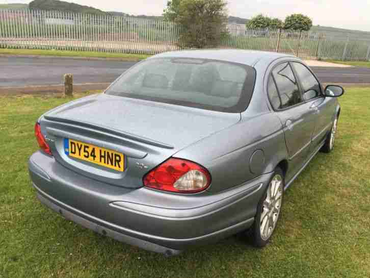 54 REG JAGUAR X TYPE-2.0 DIESEL SPORT, FULL BLACK LEATHER-SAT NAV 101K