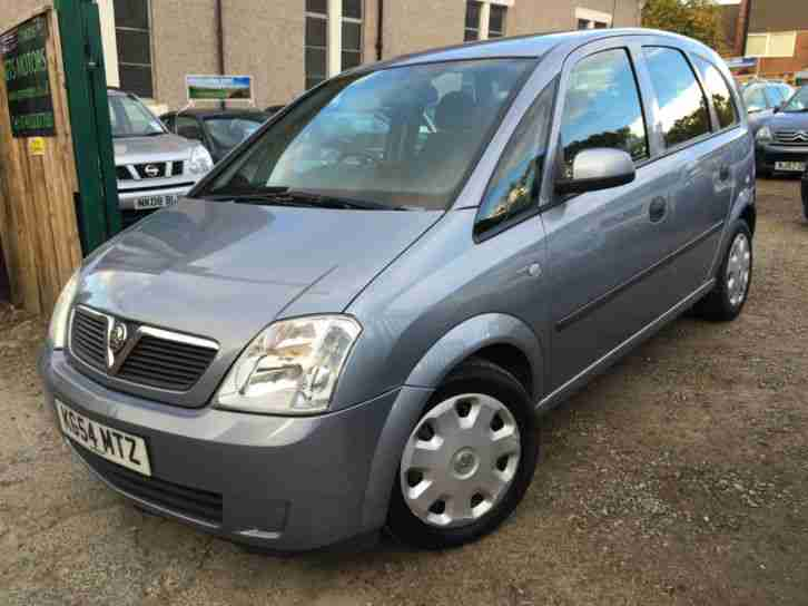 54 reg vauxhall meriva 1 7 cdti enjoy 5dr mpv turbo diesel. Black Bedroom Furniture Sets. Home Design Ideas