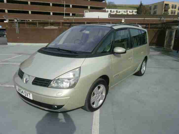 (54) Renault Grand Espace 2.2dCi Turbo Diesel Privilege 7 SEATER F/S/History