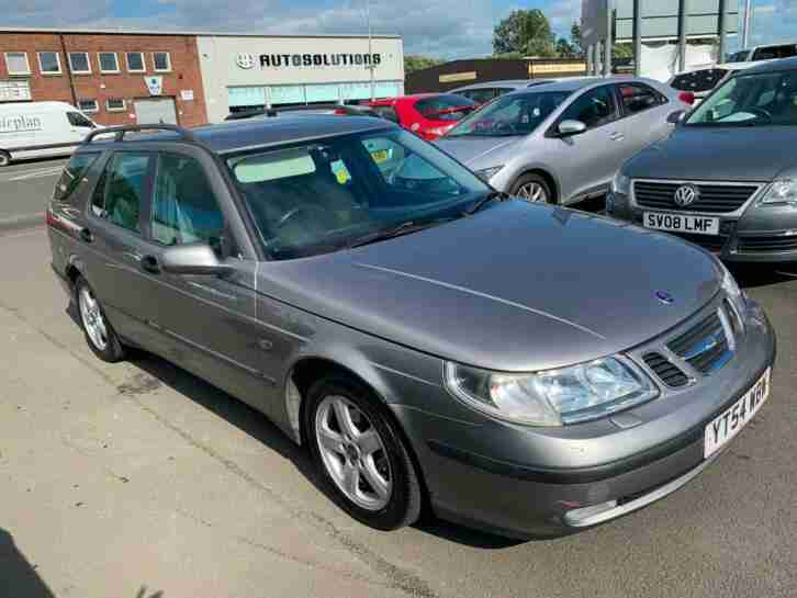 (54) Saab 9 5 2.3t Automatic Estate , mot July 2020 , only 89,000 miles