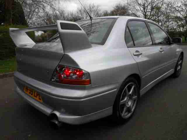 55 MITSUBISHI LANCER EVOLUTION VIII 260 ONLY 18,000 MILES FROM NEW .MAY PX