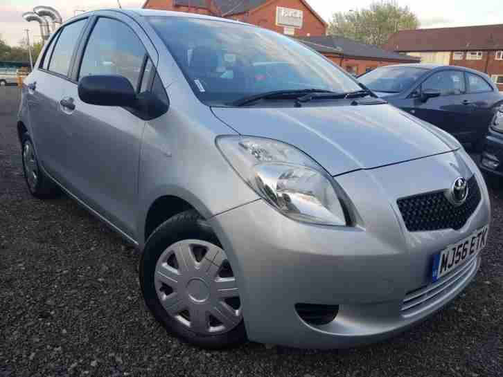 56 Plated Toyota Yaris 1.0 VVT i Ion Petrol 5 Drs 1 Previous Owner