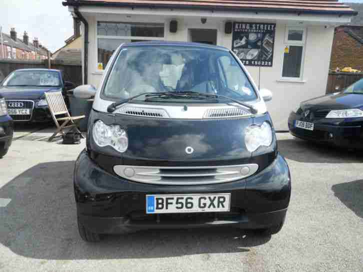 56 Smart 0.7 Fortwo Passion,FULL SMART SERVICE HISTORY,BENTLEY STYLE SEATS,64K