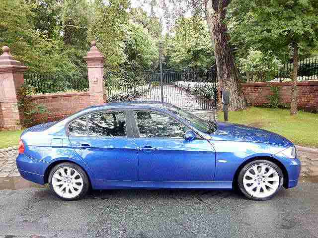57 PLATE BMW 320i SE 1 PREV OWN 43,585 MILES LE MANS BLUE STUNNING EXAMPLE