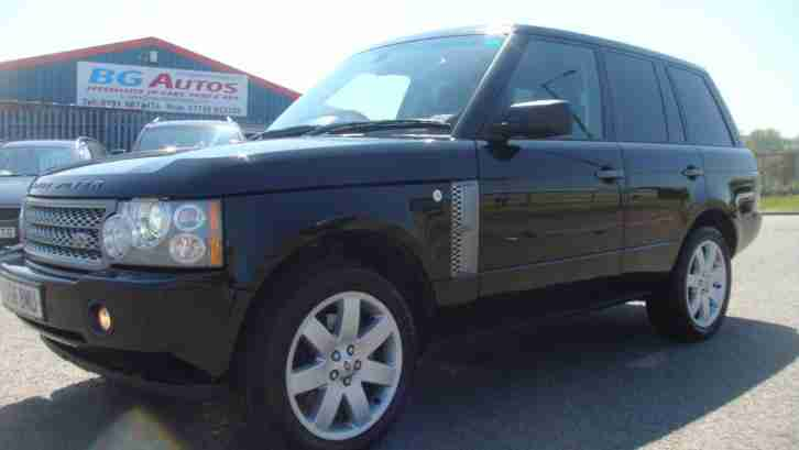 58 RANGE ROVER 3.6 TDV8 VOGUE BLACK AUTO FULLY LOADED