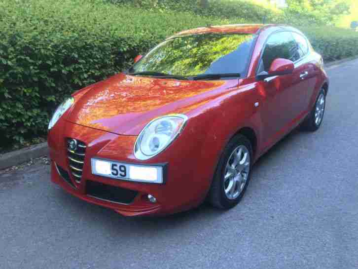 alfa romeo 59 mito 1 4 lusso 120 full service history 79k px car for sale. Black Bedroom Furniture Sets. Home Design Ideas