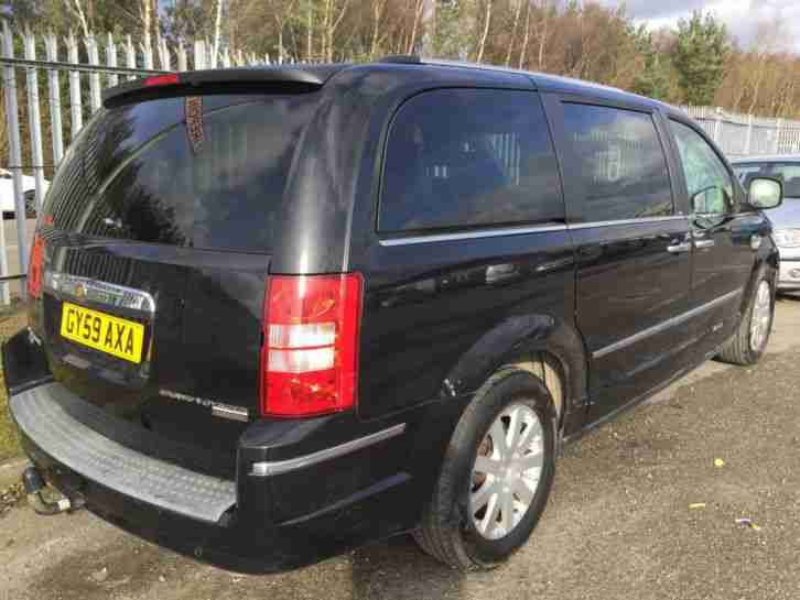 59 CHRYSLER GRAND VOYAGER 2.8 CRD LTD LEATHER,CLIMATE,SAT NAV,1 F OWNER,FABULOUS